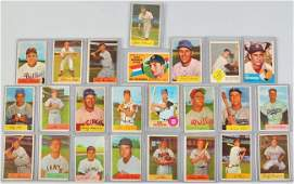 179 Lot of 88 Bowman 1954 Baseball Cards