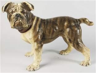 309: Cast Iron English Bulldog Ornament.