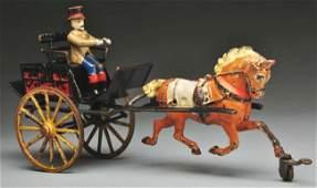 349: Cast Iron Pratt & Letchworth Dog Cart.