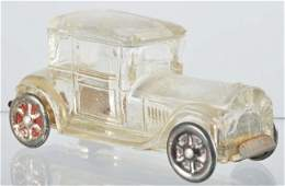 580 Glass Sedan Automobile Candy Container