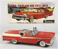 725 Tin Litho Ford Fairlane Friction Toy