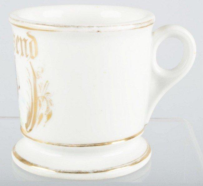 905: Masonic Shaving Mug.