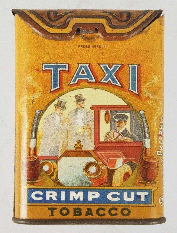 1087: Taxi Pocket Tobacco Tin.