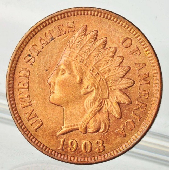 5: 1903 Indian Head Cent.