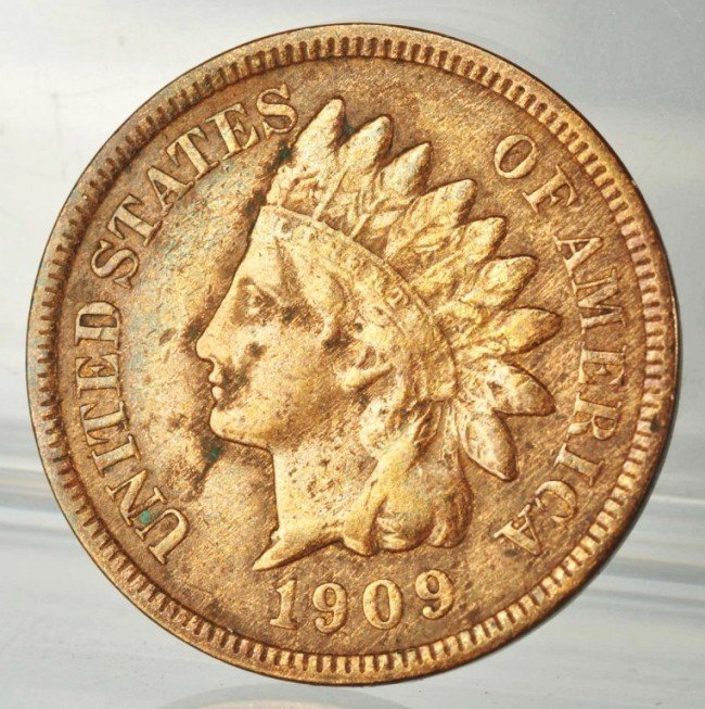 7: 1909-S Indian Head Cent.