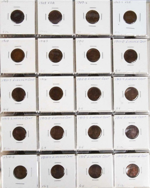 10: Lincoln Cents Collection.