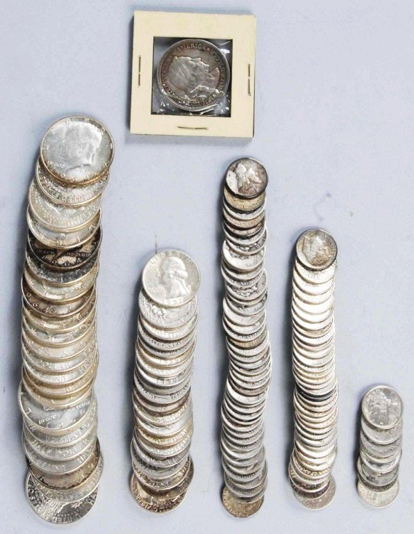 28: Lot of 90% Silver Coins.