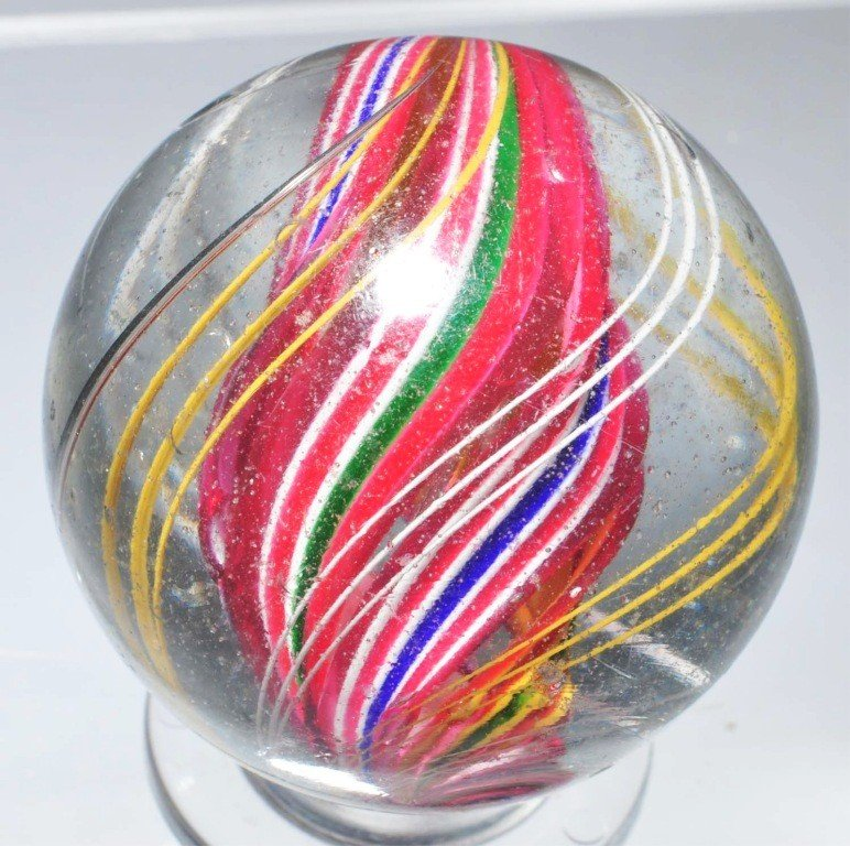 8: Divided Core Swirl Marble.