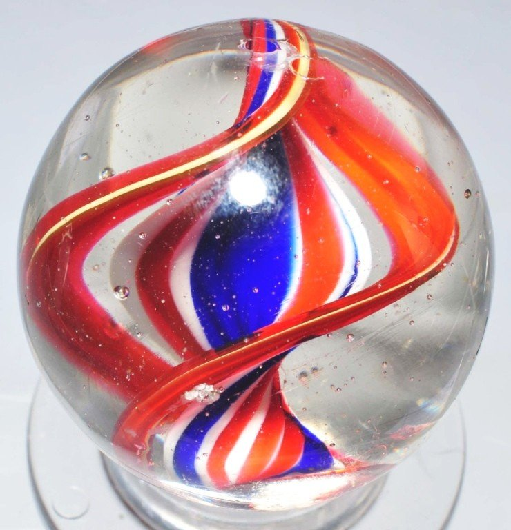 9: Naked Ribbon Swirl Marble.
