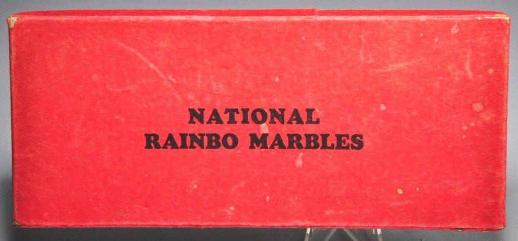 145: Peltier #220 National Rainbow Marble Box Set.