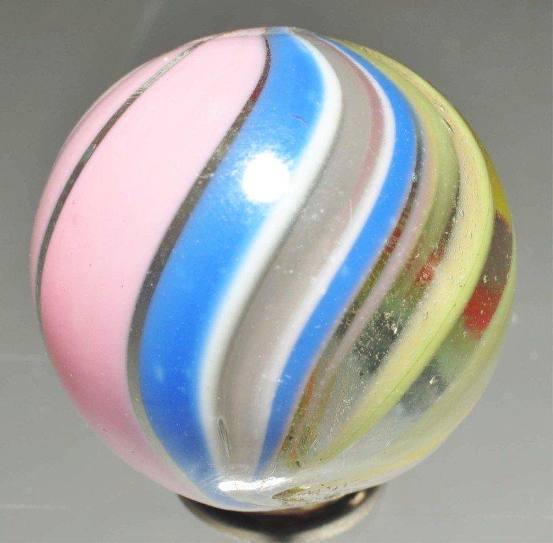 168: Joseph's Coat Swirl Marble.