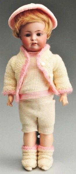 Rare S & H 607 German Toddler Doll.