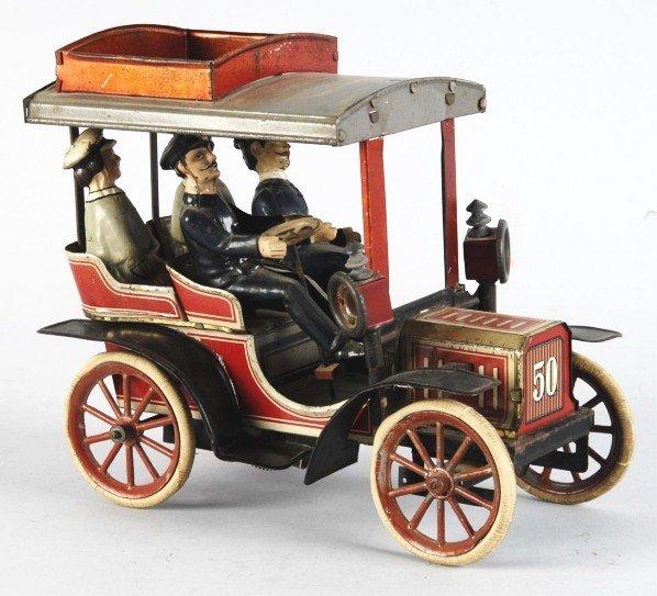 270: Tin Litho Carette No. 50 Automobile Toy.