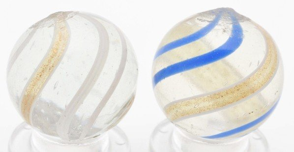 522: Lot of 2: Lutz Marbles.