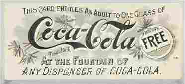 540 Early CocaCola Free Drink Coupon