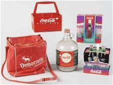 559: Lot of 4: Assorted Coca-Cola Items.