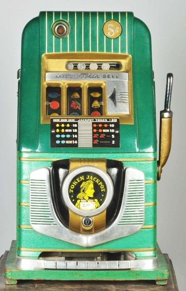 Mills token bell slot machine sell my pc games for cash