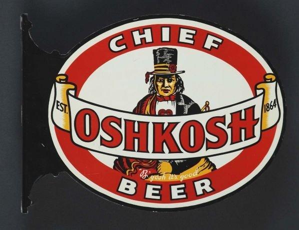 1288: Chief Oshkosh Flange Sign.
