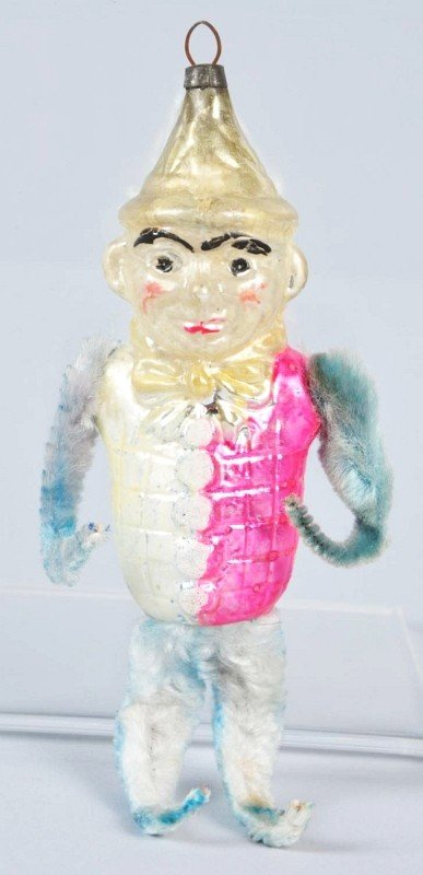 3: Glass Eddie Cantor Christmas Ornament.