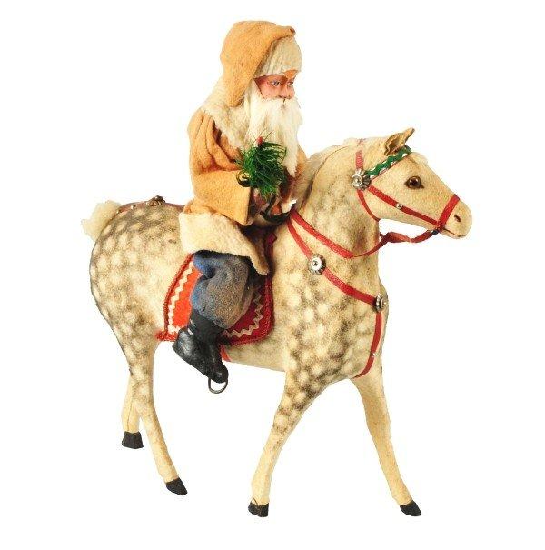 11: Santa Riding Horse.