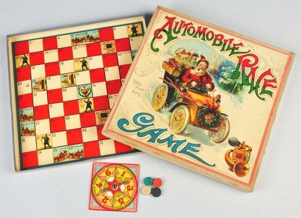 15: McLoughlin Bros. Santa in Automobile Race Game.