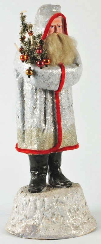 67: Belsnickel Santa Candy Container.