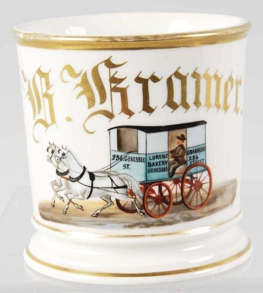 1: Bakery Wagon Shaving Mug.
