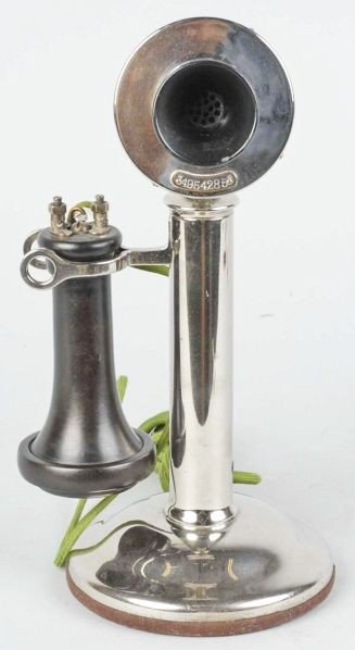 608: Western Electric Type 22 Candlestick Telephone.