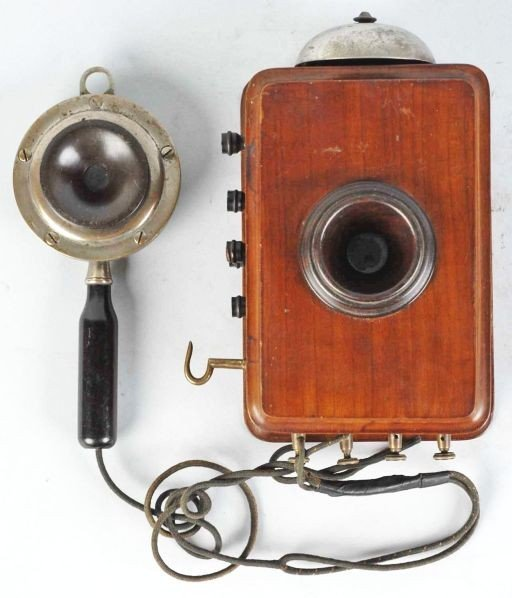 611: Early Compact Telephone.