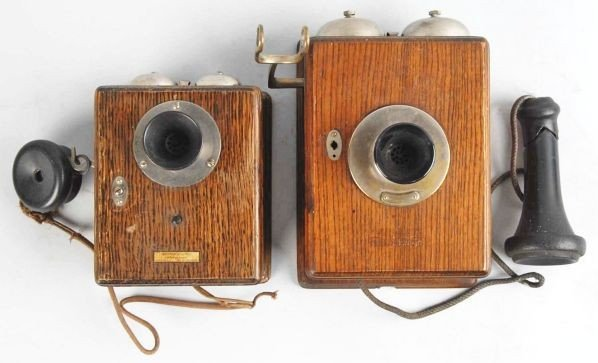 623: Lot of 2: Western Electric Compact Wall Phones.