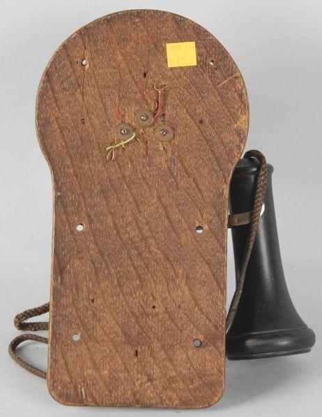 629: Oak Ericsson Wall Telephone. - 4