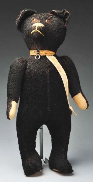 "2: Black American Bear with ""My Boogy Bear"" Ribbon."
