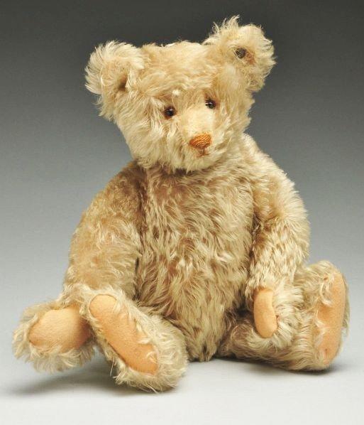5: Off-White Curly Mohair Steiff Bear.