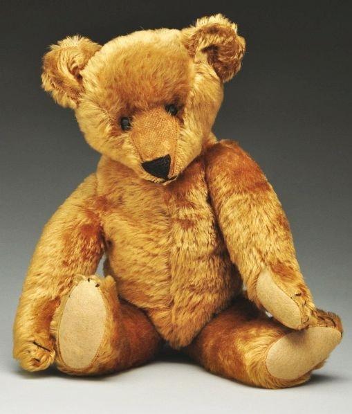 6: Ideal Golden Mohair Ideal Bear.