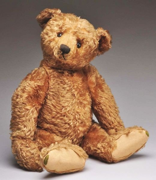 7: Steiff Center Seam Teddy Bear.