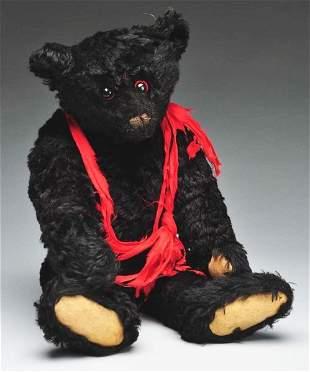 8: Black Steiff Mourning Bear.