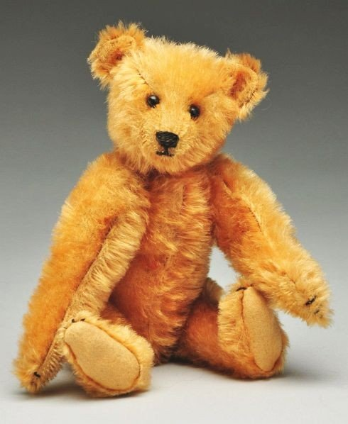 11: Apricot Color Steiff Bear.