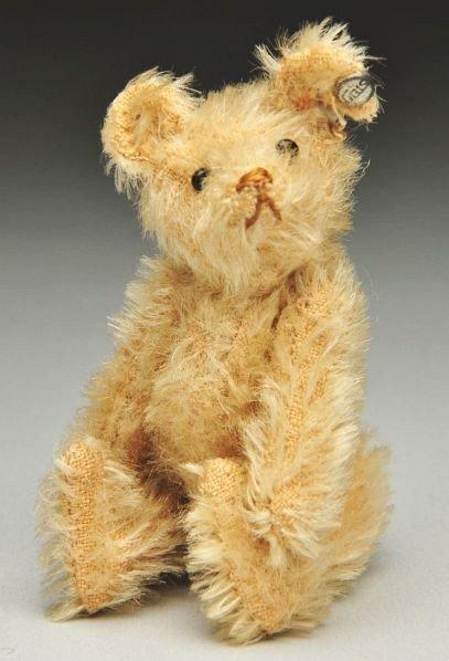 12: Off-White Steiff Jointed Bear.