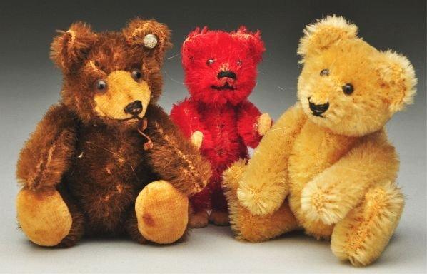 15: Lot of 3: Miniature Bears.