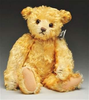 23: Rare Tipped Blonde Mohair Steiff Bear.