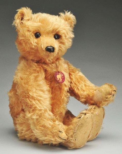 24: Rare 20-Inch Steiff Rod Constructed Teddy Bear.