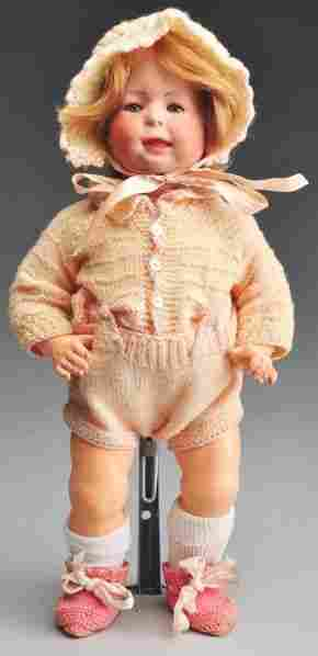 S & H 1428 Character Doll.