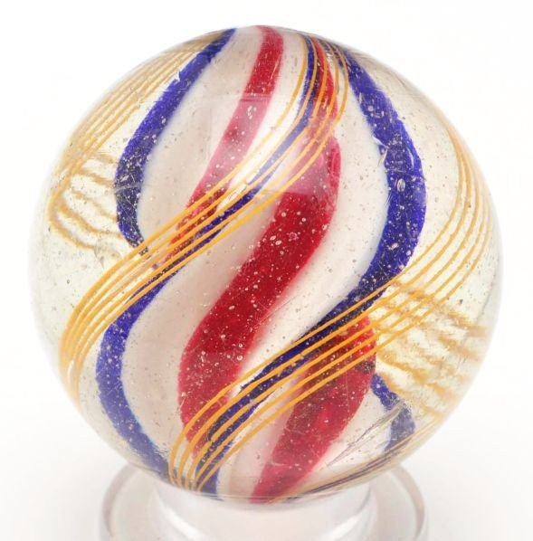 9: Ridge Core Swirl Marble.