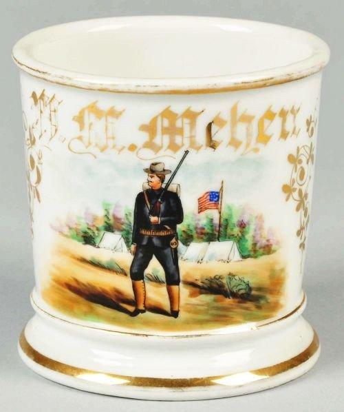 10: World War I Soldier Shaving Mug.