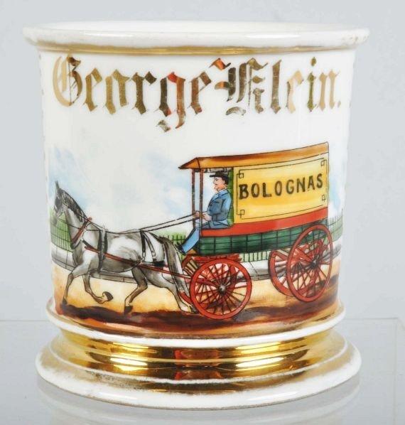 24: Bolognas Delivery Wagon Shaving Mug.
