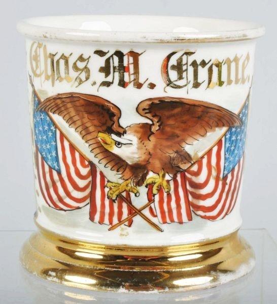 76: Patriotic Shaving Mug.