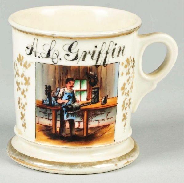 78: Tinsmith Shaving Mug.