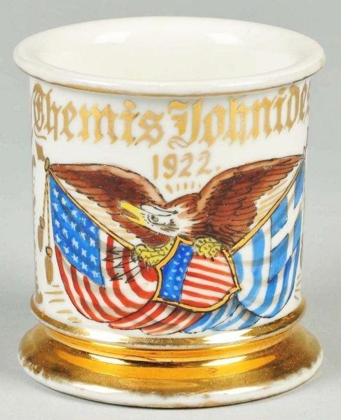 84: Patriotic Mug Shaving Mug.