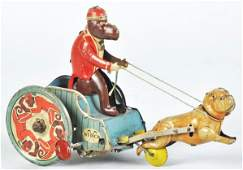 188: Tin Litho Strauss Jolly-Pals Wind-Up Toy.