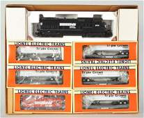 275: Contemporary Lionel Norfolk Southern Train Set.